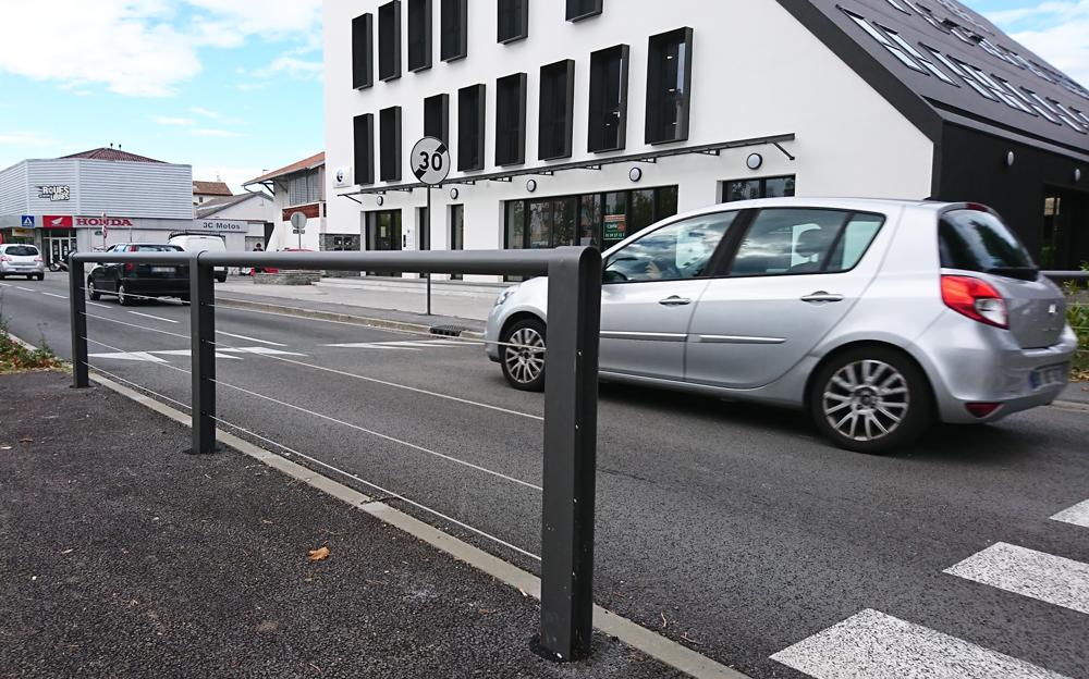 Proville mobilie urbain Bayonne ligne BHNS