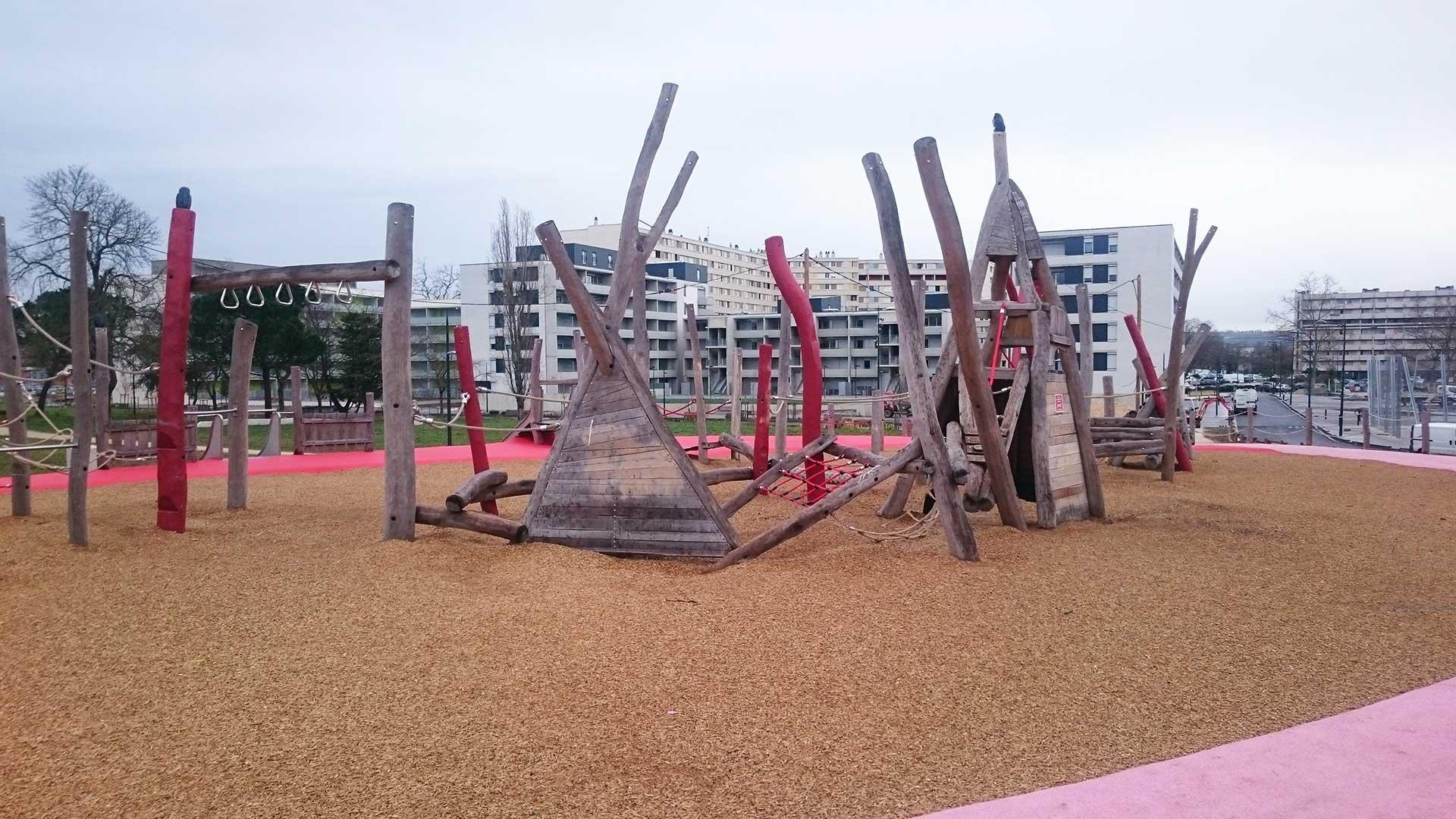 Toulouse aire de jeux Bellefontaine