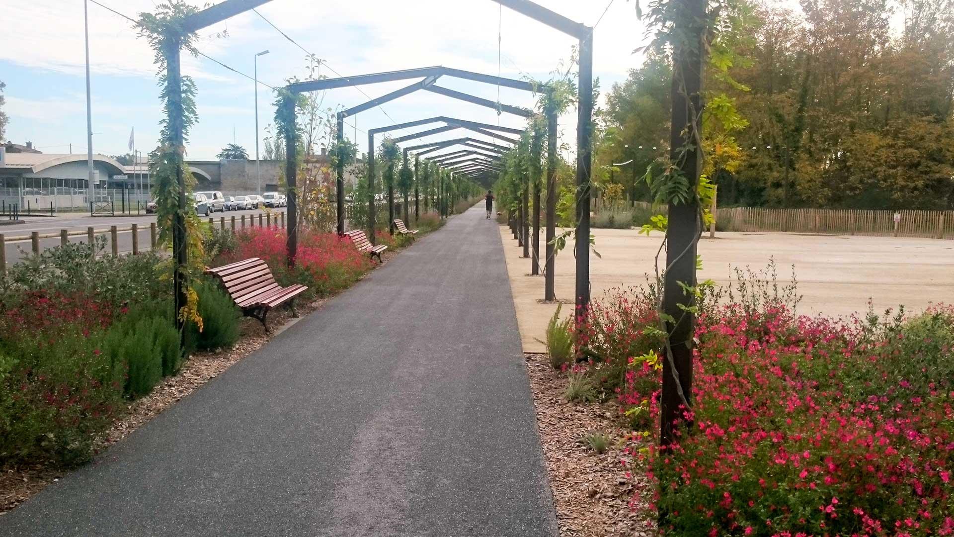 Bordeaux parc aux angéliques