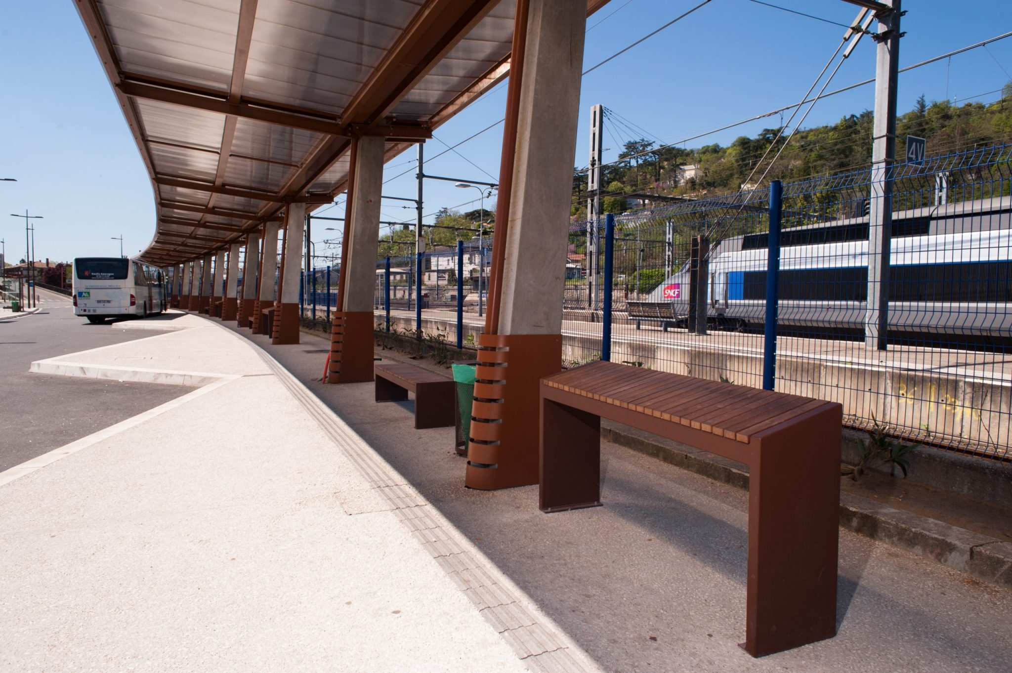 Agen - Gare pôle multimodal