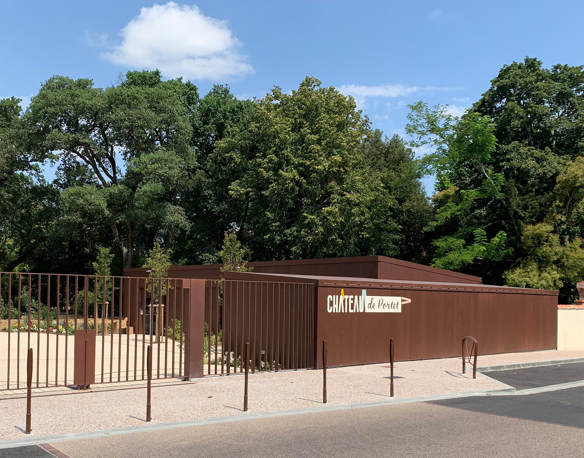 Parc du chateau de Portet sur Garonne