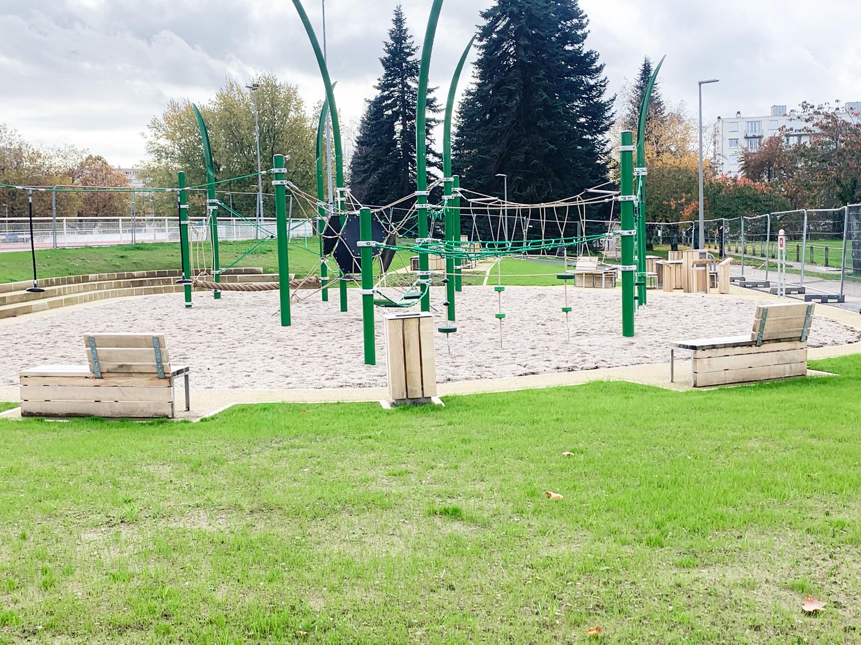 Aire de jeux Parc de Beaublanc Limoges