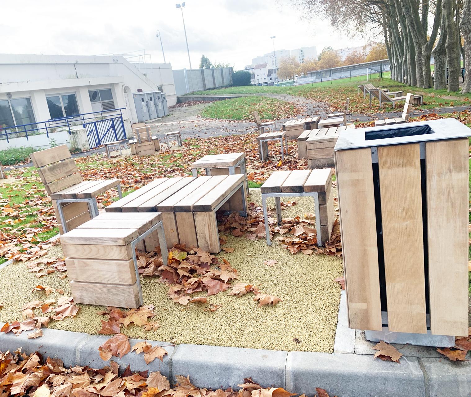 Table de pique nique Parc de Beaublanc Limoges