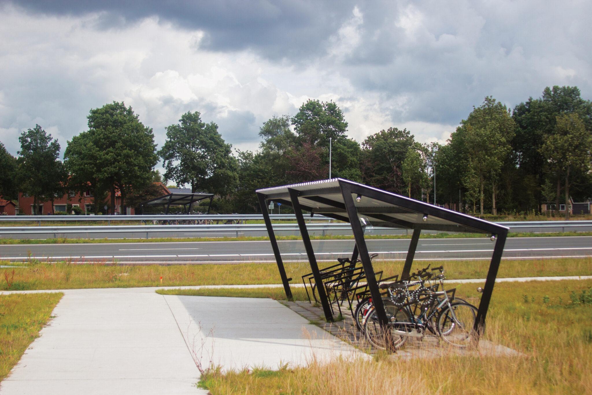 Programme Alvéole coup de pouce vélo - Abris mmcité